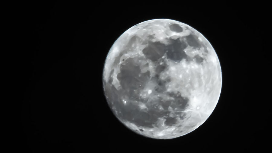 Cosmos Dark Earth Full Moon Moon Nature Science Astrology Black Celestial Glow Lunar Moonlight Night Orbit Planet Satellite Sky Universe