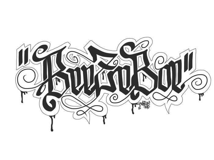 Calligraffiti Calligraphy BeezeBoe Graffiti Illustration Typography Tagges