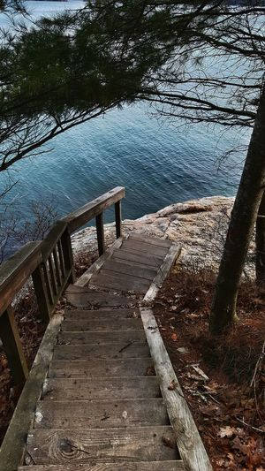 Walkway to the Edge Of The World. Found Escapes Maine Maine The Way Life Should Be