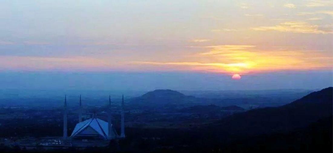 IslamabadTheBeautiful Faisal Mosque Damanekoh