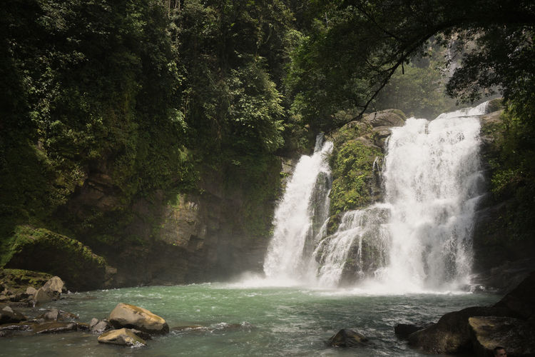 Costa Rica Long Exposure Nature No People Outdoors Rock - Object Rock Formation Scenics Travel Destinations Waterfall