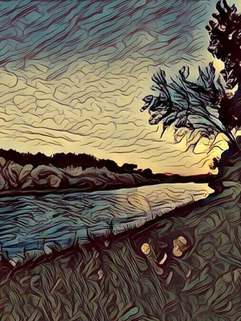 Outdoors Nature Water No People River stylized