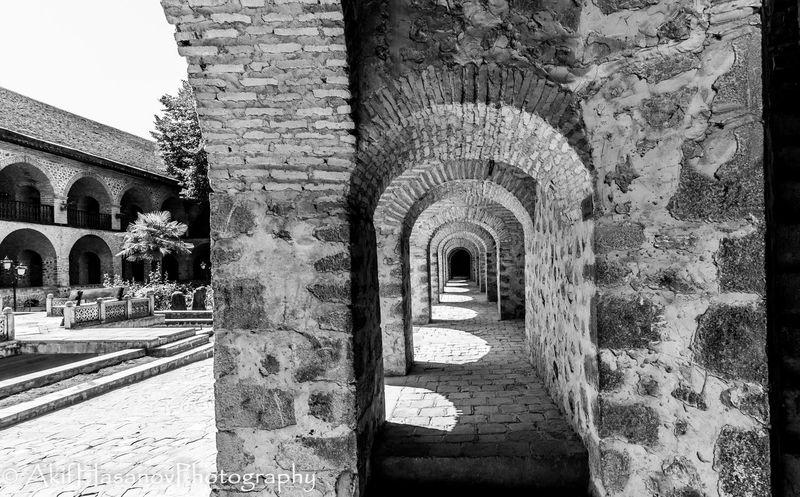 Caravanserai Sheki Ancient Arch Architecture Built Structure History No People Travel Destinations Historical Building