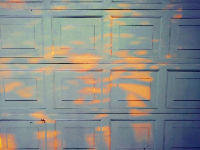 Scattered sunlight. Abstract Garage All The Small Things Summer Light