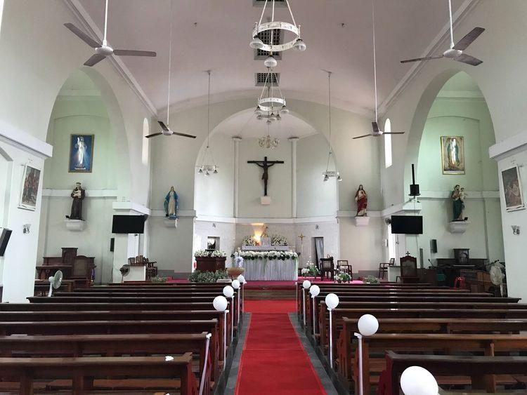 Indoors  Religion Spirituality Lighting Equipment Place Of Worship Seat Architecture