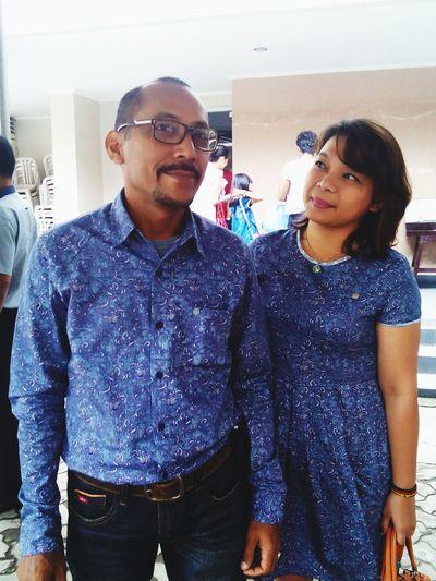 Mr & Mrs. Latuheru Jr, Yin & Yang, Tanah & Kayu, Ayam & Macan. Kita klop bener! Couple Enjoying Life Makassar Feeling Thankful