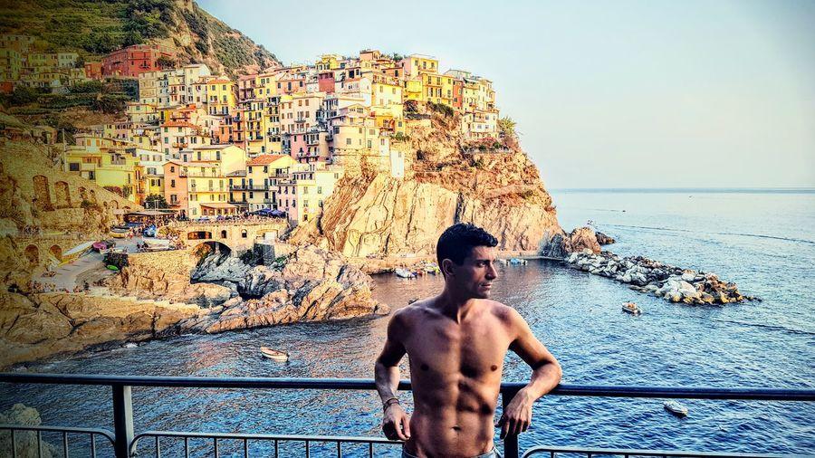 This Is Masculinity Cinque Terre Cinque Terre Liguria Cinqueterre Manarola Manarola Italy Italia Portrait Po Guy Nakedmen Nakedbody Body Fitbody