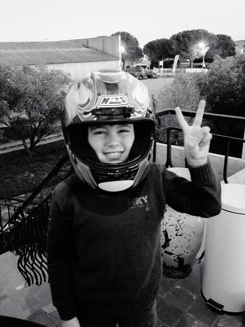 Aprem moto avec mon fiston First Eyeem Photo