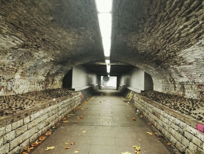 Architecture The Way Forward Built Structure Indoors  Tunnel Illuminated No People Underpass Day Zabisafi2