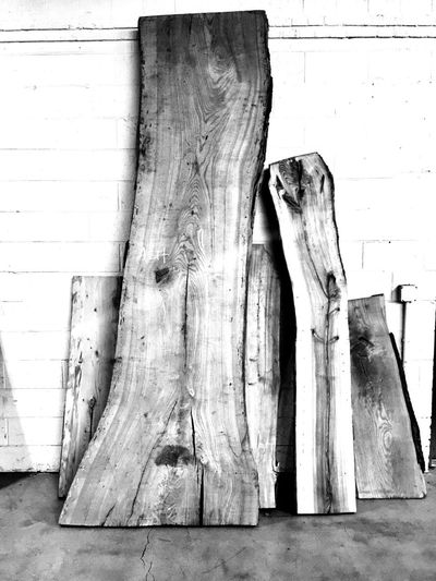 Reclaimed Wood Ash Live Edge Slab No People Wall - Building Feature Indoors  Day Close-up Tree Trunk Wood - Material