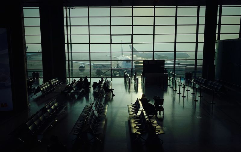 IPhone XS Max Window Architecture Indoors  Transportation Group Of People Built Structure Airport Real People Crowd Mode Of Transportation Building Large Group Of People Public Transportation In A Row Day Airport Terminal Glass - Material Men Travel City My Best Photo