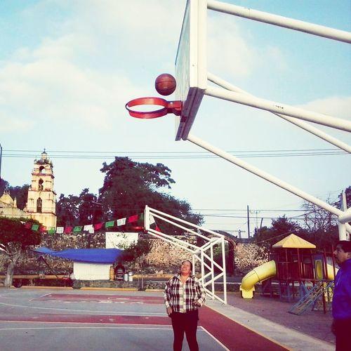 El cielo es el limite :') Basketball I <3 Momy