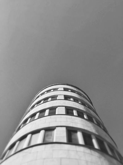 The Importance Of Being Modernist Gdynia 17 March 2015 EyeEm Best Shots IPhoneography Iphone 6 Plus IPSLines Architecture Architecture_bw Bnw Bnwphotography Modernism The Architect - 2015 EyeEm Awards IPS2016White