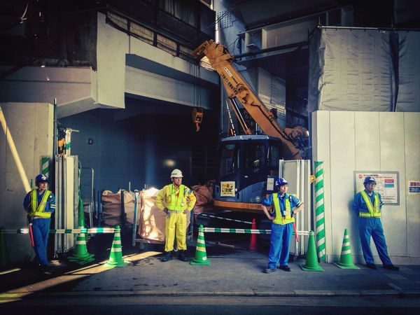 Tokyo Street Photography Construction