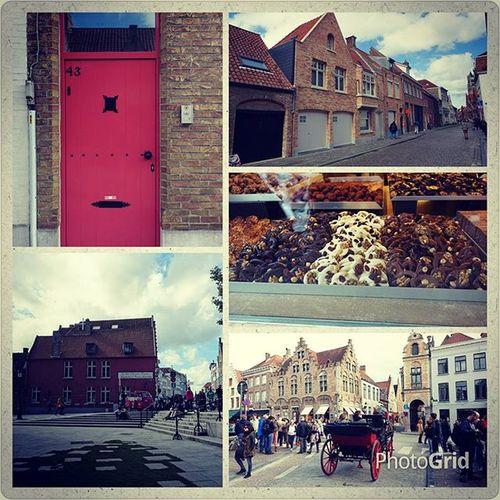 Second trip with Moesstraat 16 lovely family. Travelabroad Brugge 跟鹿特丹截然不同 Moesstraat16crew 中世紀睡美人