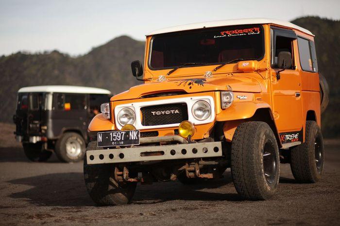 Bromo INDONESIA Pasirberbisik Exploreeastjava Eastjava Toyota Landcruiser