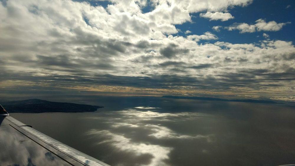 Sea And Sky Nice Day Niceview Islands ✈ EyeEmNewHere