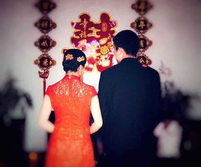 Wedding Two People