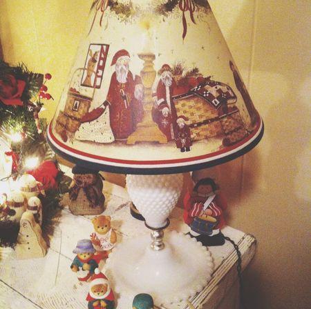 Steph Filter Fenton Glass Collection  Fenton Lamp Merry Christmas!