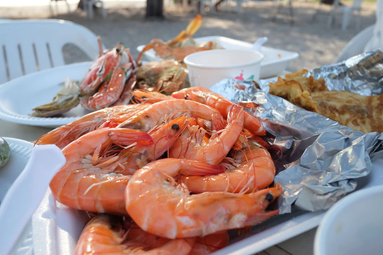 Claw Close-up Crustacean Day Food Food And Drink Freshness Healthy Eating Lobster No People Outdoors Prawn Seafood