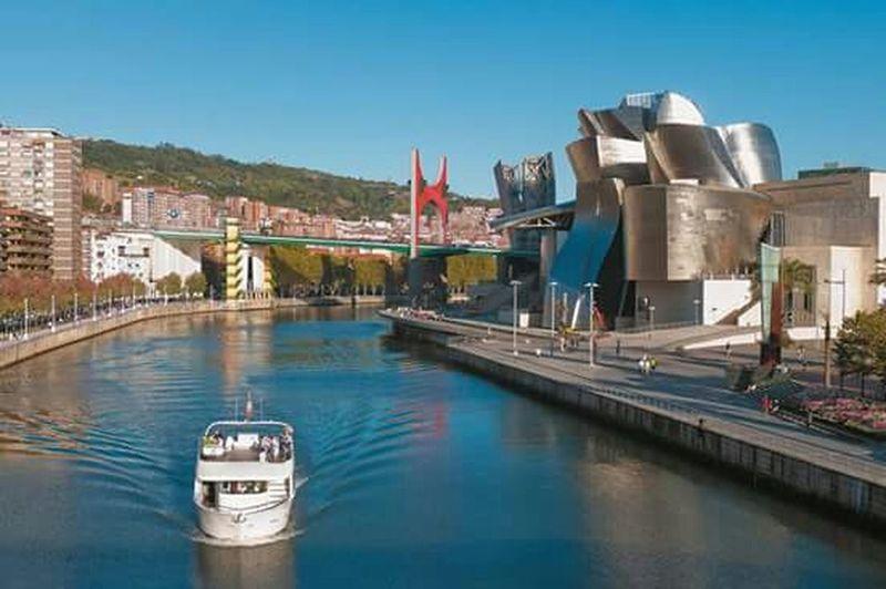 My City Bilbao Nervion Guggenheimmuseum Summer2015