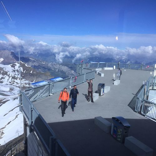 Schilthorn Pix Gloria Cold Temperature Outdoors Sky Switzerlandpictures Switzerland Alps Beauty In Nature Mountain Nature Day