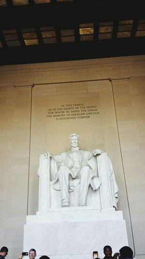 WashingtonDC Abrahamlincoln Statue Trip