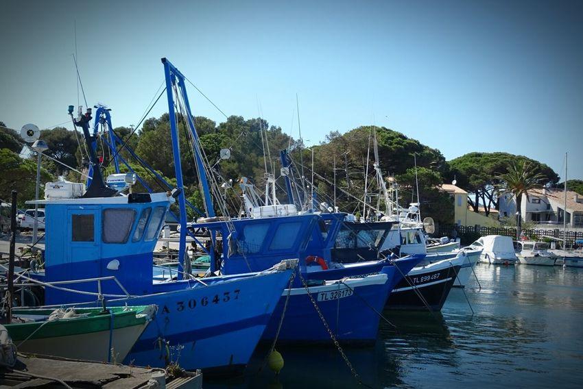 Port Bateau ❤️ Peche Mer Pêcheur Reflection Sky Water Blue Clear Sky Pêcheur 👣🐟 Sea