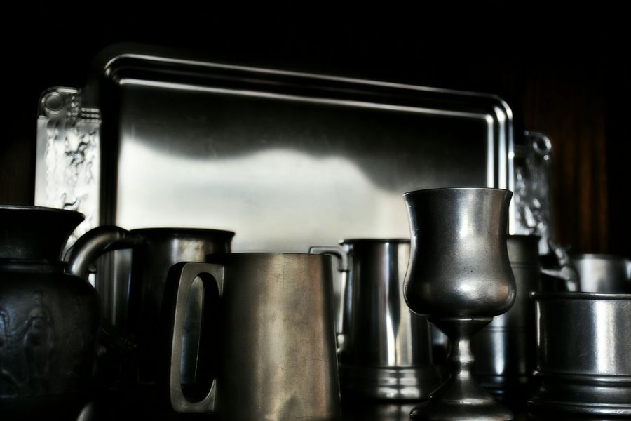 Pewter collection Pewter Drinking Vessel Tankards Mugs Metal Indoors  No People Domestic Kitchen Domestic Life Collection Food And Drink