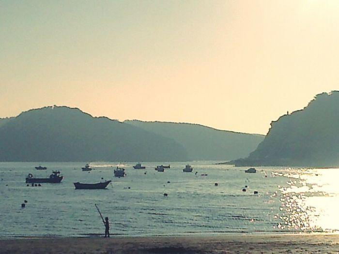 São Martinho Do Porto Beautiful Sunset MyWorld ♡