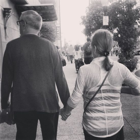 What Makes You Strong? Seeing how truly in love my grandparents still are after over 55 years of marriage gives me hope. They remind me true love really does exist. Grandparents Love Family