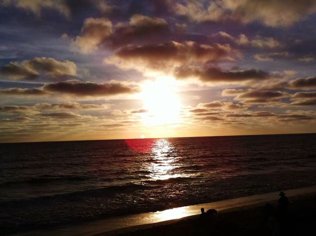 Sea Horizon Over Water Sunset Beach Water Sky Scenics Nature Beauty In Nature Cloud - Sky Tranquil Scene Sunlight Outdoors Tranquility No People Day Awesome_shots Awesome Ocean Beautiful Beach Best Sunrises And Sunsets Live For The Story