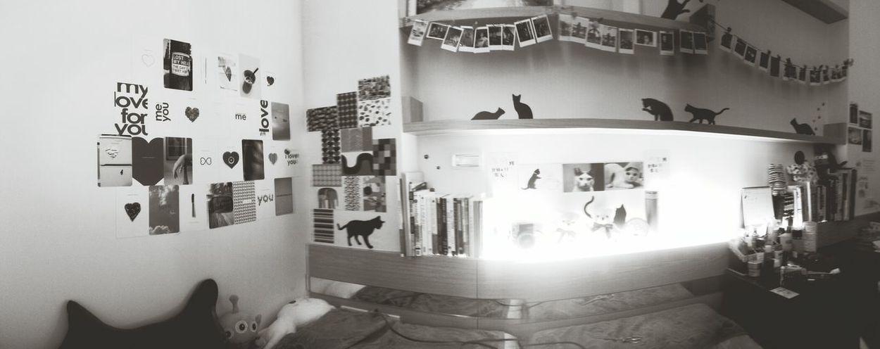 Blackandwhite Taking Photos Bedroom Enjoying Life Design