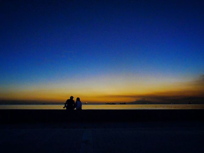 Lovers Twilight Sky Urban Lifestyle Eyeemphotography Taking Photos Street Eyeem Philippines Street Photography EyeEm Best Shots Street Photo Streetphotography EyeEmBestPics Street Photograph Eye4photography  Photooftheday Streetphoto_color Lonelyplanet Minimalism Streets In Color Alone In The City  Sunset