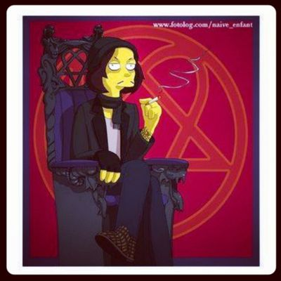 Villevalo Him Thesimpson Hisinfernalmajesty FamilyValo More in http://www.facebook.com/FamilyValo