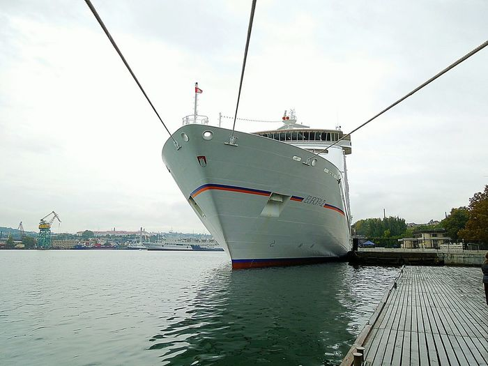 the cruise ship EUROPA 2