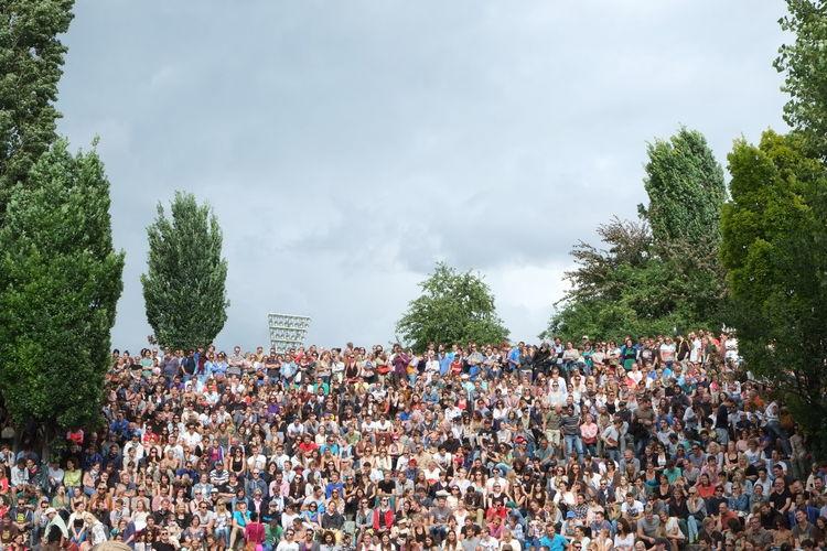 People enjoying outdoor activities