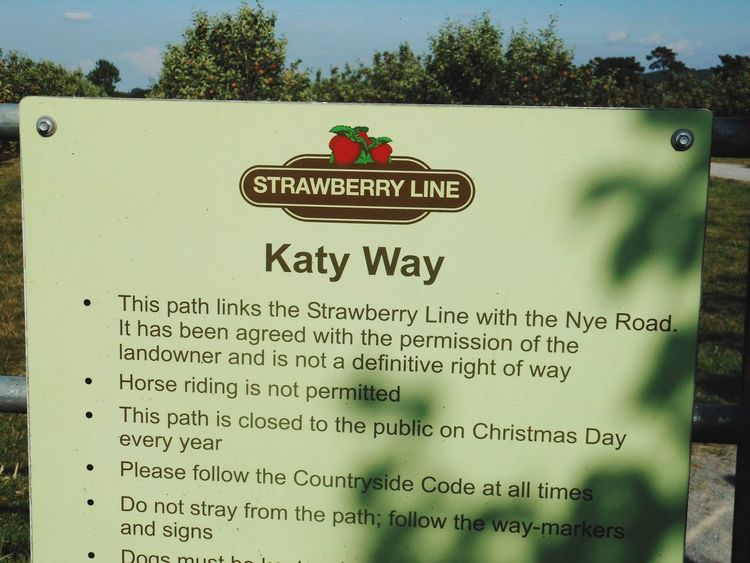 Old Railway Line Somerset Strawberry Line