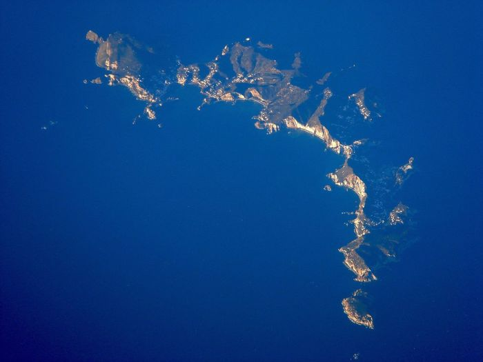 Flighing High Water Blue Island Beauty In Nature Sea EyeEmNewHere Ponza Aerial Photography Aerial View Sea And Sky