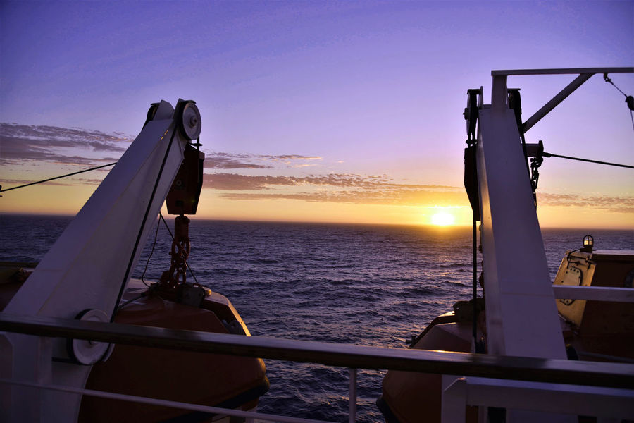 Summer sunset Sea Sunset Nautical Vessel Sky Water Night Falling Taking Photos Enjoying Life Relaxing