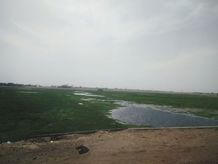 The KIOMI Collection Water Indiapictures India Beautiful View Sandy Lands Village With Sand Green And Blue
