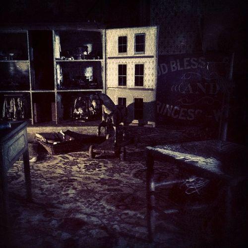 Old Toys Dollshouse Calkeabbey