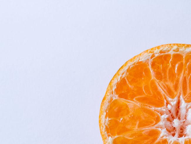 Blood Orange Citrus Fruit Close-up Copy Space Day Food Food And Drink Freshness Freshness Fruit Grapefruit Healthy Eating Juice No People Orange - Fruit Orange Color Orange Fruit Peel SLICE White Background