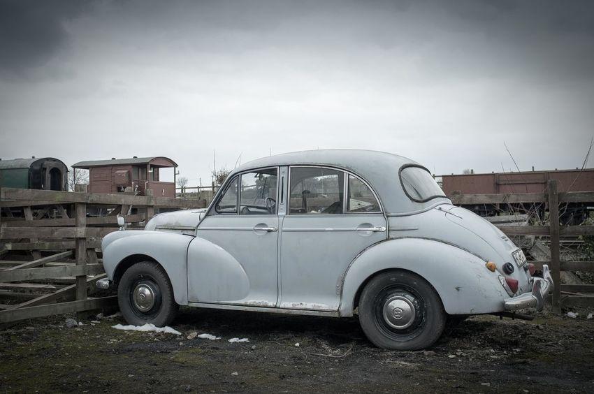 Abandoned Car Land Vehicle Morris Minor No People Old-fashioned Outdoors Retro Styled Stationary Transportation