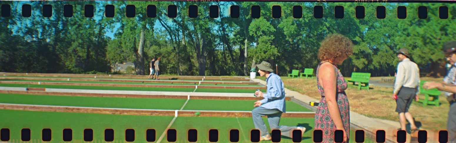 HDR FX Pro Bocce Ball Belair Panorama Real Film