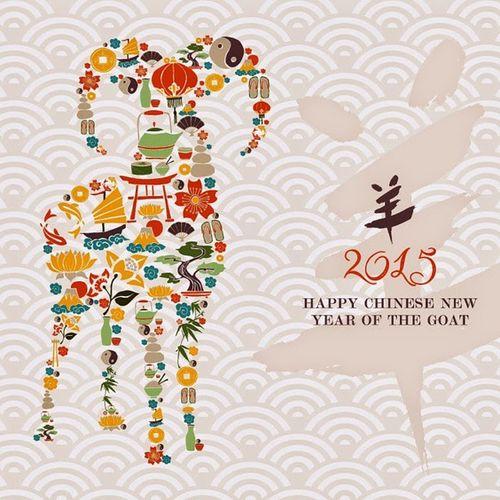26 Januari Tahun Baru Imlek Gong XI Fat Chai shio Kambing Kayu Membawa Berkat amin