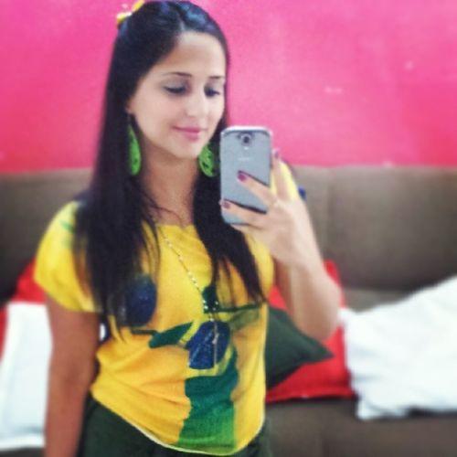 Brasil ??? HojeTemCopa HojeTemJogo VamosSerBrasileiros DalheBrasil Brasileira Carioca VamosBrasil BondeDoSal ✌??