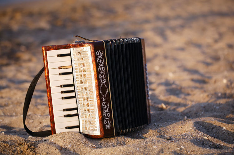 Accordion Argentinian Beach Bohemian Buenos Aires Harmonica Instrument Musical Obsolete Retro Sand Squeezebox Vintage