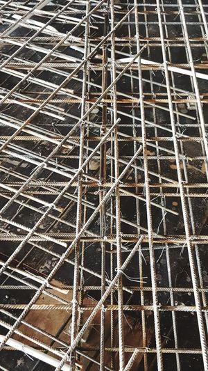 Slab reinforcement works Rc Slab Contruction Contructionwork Rebars Slab Fornwork Backgrounds Full Frame Pattern Metal Grate Close-up