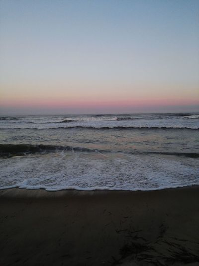 Sunset on the beach First Eyeem Photo Enjoying Life Small Waves First Eyeem Photo